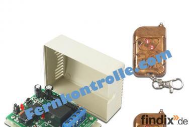 1 Kanal 9V 12V 24V  Funk Schalter / Fernbedienung Tür Rolladen