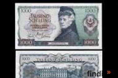 1000 Schilling Schein 1966