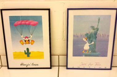 2 lustige Enten Bilder Hangin' Loose und Just For Fun