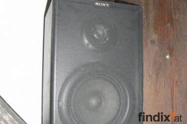 2 SONY Lautsprecher-Boxen, 60 W