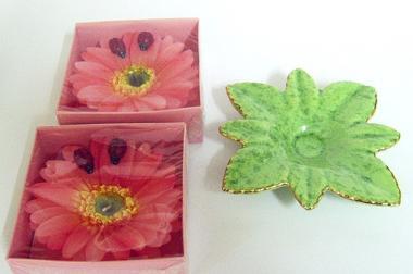 2 x 3-teiliges Kerzen-Sets