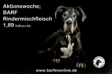 20 KG BARF Frostfutter Rinder Mischfleisch 37,00 EUR