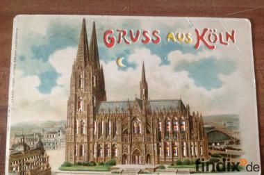 3-D Relief-Postkarte, Ansichtskarte