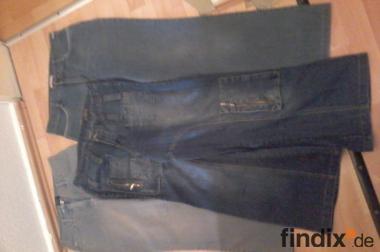 3 Damen Jeans Gr 38/40 2x neu und gut gebrauchte