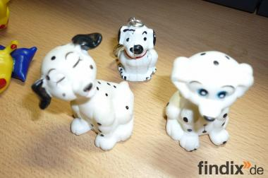 3 Stück Figuren Der Hund Dolmatinez