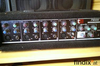 4 Kanal Verstärker t.mix PM400