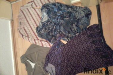 4 Langarmshirts, Hängerchen/Tunika Minikleid/ Longshirt ..Marken