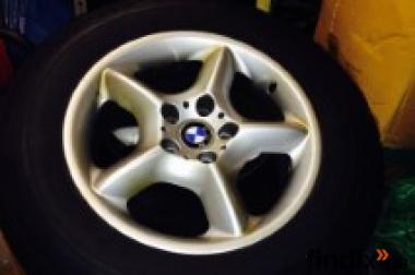 4 x BMW X5 Alu - Felgen mit Reifen