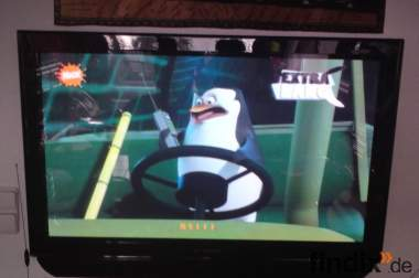 42 Zoll Plasma TV, Nordmende, Klavierlack schwarz