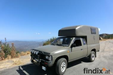 4x4 Camper, Wohnmobil Nissan King Cab
