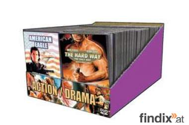 50 DVDs Actionfilme Neuware
