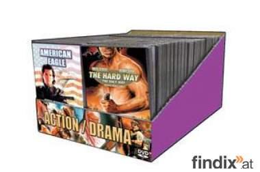50 DVDs Actionfilme Neuware
