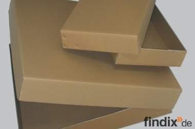 65 Kartons mit Deckel (auch stückweise)