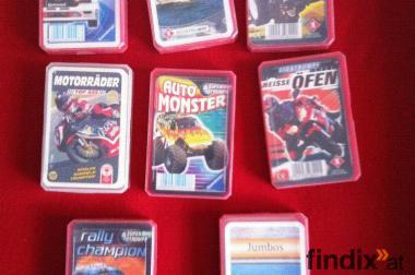 8 Quartett Kartenspiele
