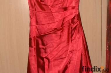 Abendkleid, rot, Gr.50, neu !