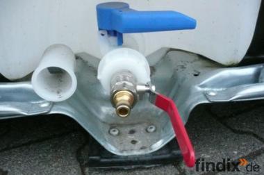 Adapter f. IBC Wassertank # m. Kugelhahn aus Messing für Gardenia