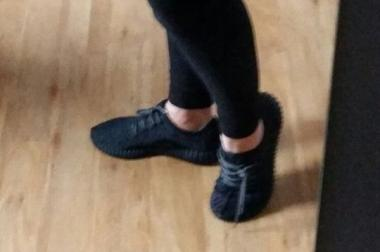 Adidas Yeezy Boost 350 neu Größe 38 schwarz