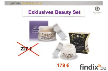 Adoniagermany Beauty-Set : Athena 7 Minuten Lift Effektcreme + St