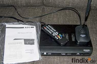 AEG DVB-T Receiver mit Vivanco Antenne