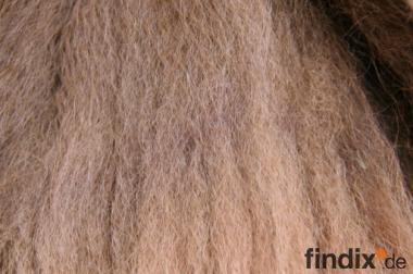 Alpakawolle (Rohwolle) in verschiedenen Farben zu verkaufen