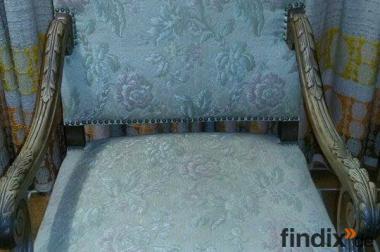 Antiker Sessel (Gründerzeit)