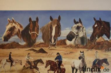 Appaloosa-& Quater Horseszuchtaufgabe