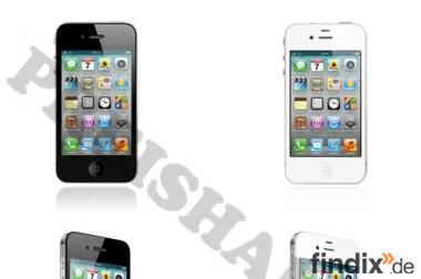 Apple iPhone 4 / 4S / 8GB / 16GB / 32GB / 64GB Ratenzahlung NEU