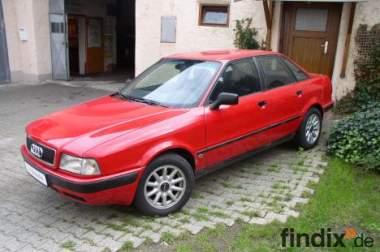 Audi 80 B4 rot sehr guter Zustand