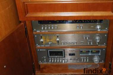 AUDION 6100 Musikschrank, Audioschrank, Tuner, Amplifier