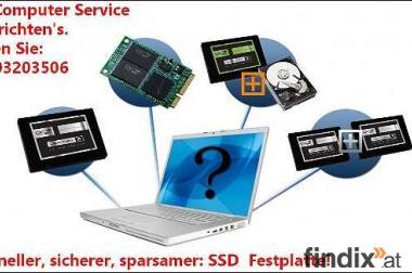 Aufrüstung für Laptops mit moderner SSD Festplatte