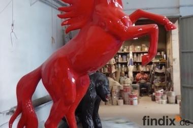 aufsteigend in allen Ral. Farben erhälich Deco Horse