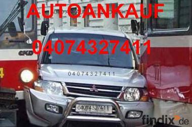 Autoankauf Hamburg defektes Auto, unfallauto Ankauf 04074327411