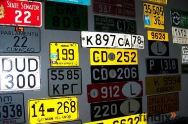 Autokennzeichen, gebraucht
