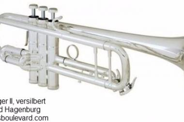 B & S Challenger II Profi Trompete Mod. 3137/2-S mit Triggerhebel