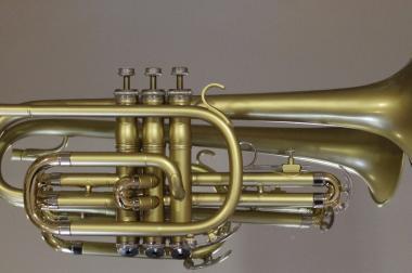 Bach / Selmer B - Kornett Einzelanfertigung, seidenmatt