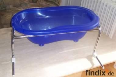 Badewannenaufsatz inkl. blauer Badewanne k