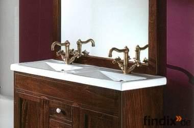 Badmöbel Francesca 105 cm Doppelwaschtisch