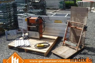 Bauaufzug – Komplett Böcker EL 300 - Sonderposten