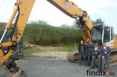 Baumaschinenführer Ausbildung, Radlader, Baggerführerschein