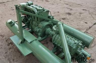 Beregnungsaggregat KHD 912er Motor Diesel Bewässerung Aggregat