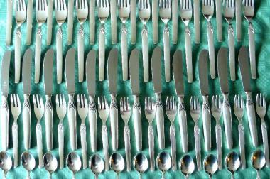Besteck Menübesteck Silber 100 (BE012)