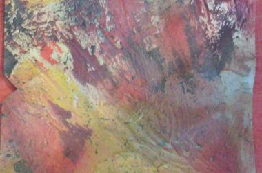 Bild - Öl auf Leinwand, ohne Rahmen, 38,5x29