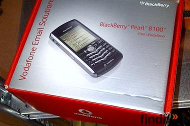 Blackberry 8100 mit Ladekabel