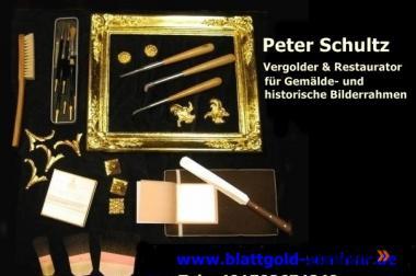 Blattgold, Vergolderseminar, Kunsthandwerk, Weiterbildung