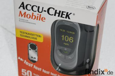 Blutzucker-Mess-Gerät Accu-Check Mobile (Roche)