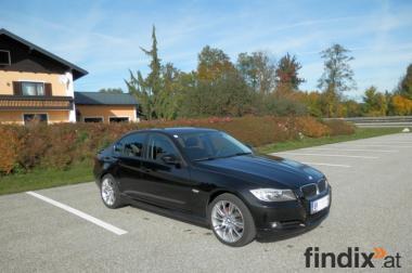 BMW 318d Schwarzmetallik