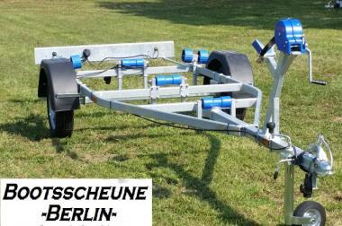 Bootstrailer Bootsanhänger 750Kg NEU 100km/h Stützrad Seitenrolle