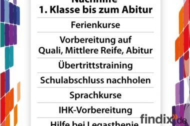 BWR-Ferienkurs in München (Nachhilfe / Osterferien)