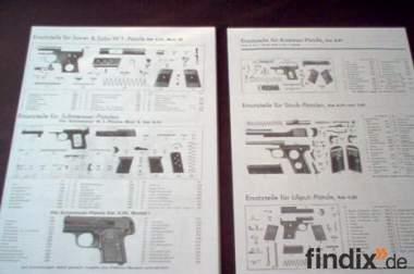 ca 80 Seiten katalog von 1937 über Luftdruckwaffen