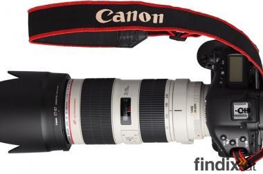 Canon 5D Mrk 2 mit EF 70-200mm f/2.8L IS II USM Objektiv